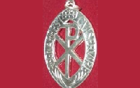 Silver Plated Medal (10 years) £7.50